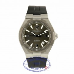 Vacheron Constantin Overseas Stainless Steel and Titanium Gray Dial 47040/000W-9500 06H6RD