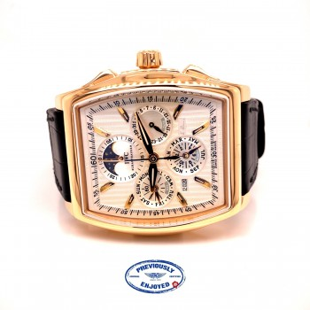 IWC Da Vinci Perpetual Calendar Kurt Klaus Rose Gold IW376203 012F87 - Beverly Hills Watch Company
