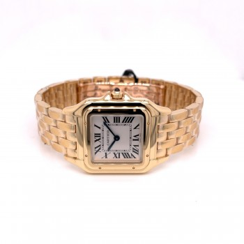 Cartier Panther Medium Yellow Gold WGPN0009 AMV55U - Beverly Hills Watch Company
