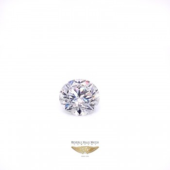 Round Brilliant Cut 6.10ct Diamond G SI2 GIA 2C2L7J - Beverly Hills Watch and Diamond Company