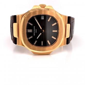 Patek Philippe Nautilus Rose Gold Slate Dial 5711r 2C50HX - Beverly Hills Watch Company