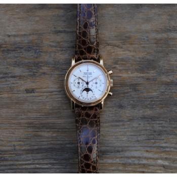 Patek Philippe Perpetual Calendar Chronograph 3970ER-012 PQ3C2C - Beverly Hills Watch Company