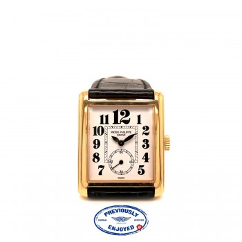 Patek Philippe Gondolo Rose Gold Manual Wind White Dial 5014R 94UWDX - Beverly Hills Watch Company