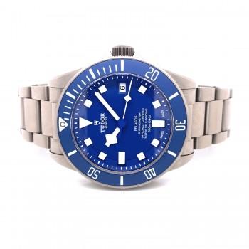 Tudor Pelagos 42MM Titanium Blue Dial 25600TB 632EJA - Beverly Hills Watch Company