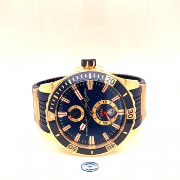 Ulysse Nardin Maxi Marine Diver 44mm Rose Gold 266-10-3/93 UHP4DP
