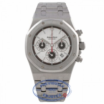 Audemars Piguet Royal Oak Chronograph 39MM Automatic Stainless Steel Silver Dial 26300ST.OO.1110ST.06 M9Z6YA - Beverly Hills Watch Store Watch Store