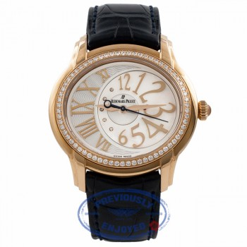 Audermars Piguet Millernary 18k Rose Gold Mother of Pearl Dial 39MM 77301OR.ZZ.D015CR.01 Q5BZCR - Beverly Hills Watch Company Watch Store
