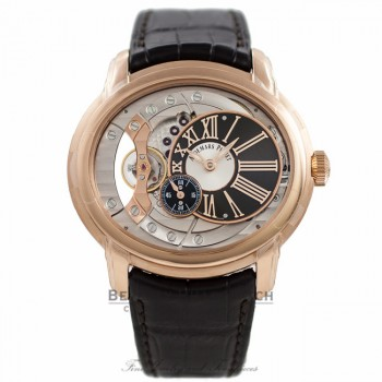 Audemars Piguet Millenary 4101 18k Rose Gold Automatic 15350OR.OO.D093CR.01 82JU93 - Beverly Hills Watch Company Watch Store