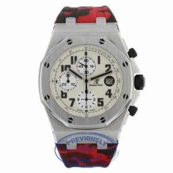 Audemars Piguet Offshore Safari Watch 42mm 26170ST.OO.D091CR.01 H9HJCA - Beverly Hills Watch Company