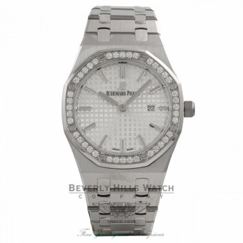 Audemars Piguet Royal Oak 33MM Stainless Steel Silver Dial Bracelet 67651ST.ZZ.1261ST.01 7M9Y1Q - Beverly Hills Watch Company Watch Store