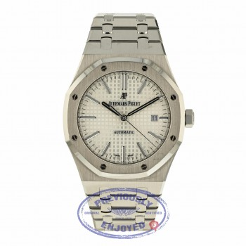 Audemars Piguet Royal Oak 41MM Stainless Steel Silver Dial 15400ST.OO.1220ST.02 RREVH8