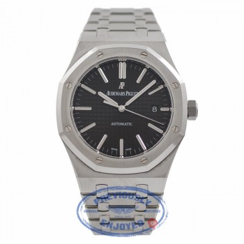 Audemars Piguet Royal Oak 41MM Stainless Steel Black Dial 15400ST.OO.1220ST.01 PZDUG2 - Beverly Hills Watch Company Watch Store