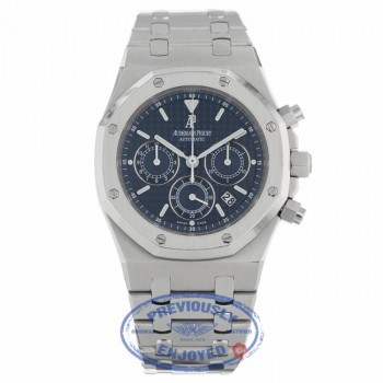 Audemars Piguet Royal Oak Chronograph 39MM Stainless Steel Blue Dial 25860ST.OO.1110ST.03 M8UYM4