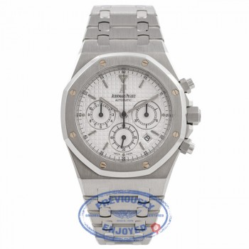 Audemars Piguet Royal Oak Chronograph 40MM Silver Dial Stainless Steel 25860ST.OO.1110ST.05 G4GHAV - Beverly Hills Watch Company Watch Store