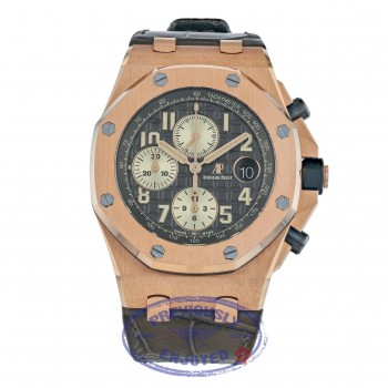 Audemars Piguet Royal Oak Offshore 42mm Chronograph Slate Dial 26470OR.00.A125CR.01 FFPMZU - Beverly Hills Watch