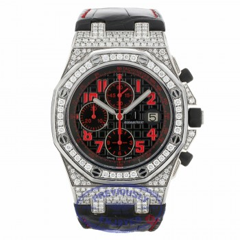 Audemars Piguet Royal Oak Offshore Las Vegas Strip Diamond White Gold 26191BC.ZZ.D002CR.01 W8V010 - Beverly Hills Watch