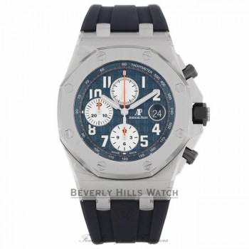 Audemars Piguet Royal Oak Offshore Chronograph 42MM Navy 26470ST.OO.A027CA.01 KT7JEZ - Beverly Hills Watch Company