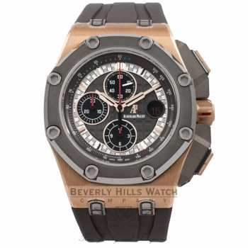 Audemars Piguet Royal Oak Offshore Michael Schumacher Limited Edition 26568OM.OO.A004CA.01 5UDTYT - Beverly Hills Watch Company Watch Store