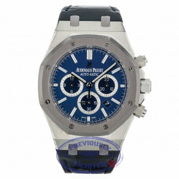 Audemars Piguet Royal Oak Chronograph Leo Messi Platinum Chronograph 26325PL.OO.D310CR.01 JJM48M - Beverly Hills Watch