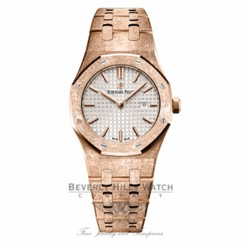 Audemars Piguet Royal Oak Quartz 33mm Ladies 67653OR.GG.1263OR.01 Z46NZC - Beverly Hills Watch