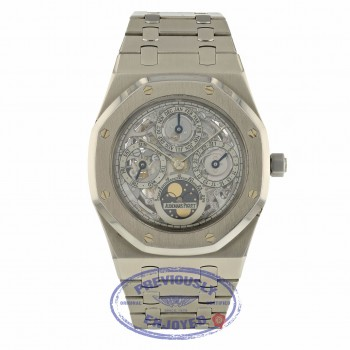 Audemars Piguet Royal Oak 39mm Skeleton Perpetual Calendar 25829ST.OO.0944ST.01 V7WK6V - Beverly Hills Watch Company