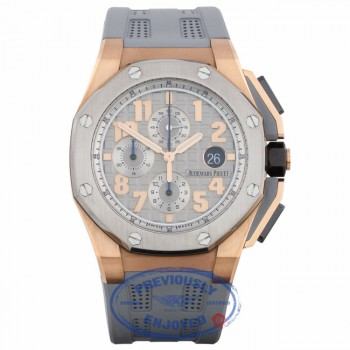 Audemars Piguet Royal Oak Offshore Lebron James 18K Rose Gold Grey Dial Limited Edition 26210OI.OO.A109CR.01 Q2X50F