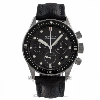 Blancpain Bathyscaphe Chronograph 43MM Automatic Stainless Steel Grey Dial 5200 1110 B52A MNZUHR - Beverly Hills Watch Company Watch Store