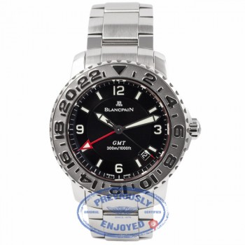 Blancpain Diver Air Comand Fifty Fathom GMT 2250-1130-71 QJHRDI - Beverly Hills Watch Company Watch Store