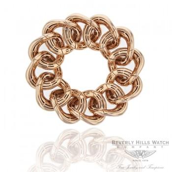 Naira & C 18k Rose Gold Large Link Stretch Bracelet JLKC63 - Beverly Hills Watch