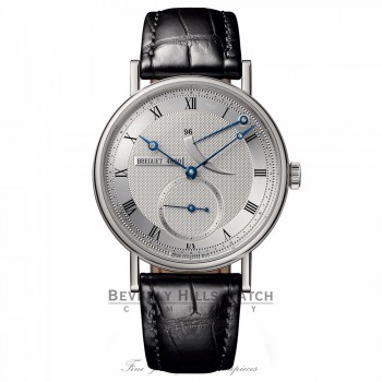 Breguet Classique 38mm White Gold Power Reserve 5277BB/12/9V6 FNR292 - Beverly Hills Watch Company