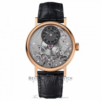 Breguet Traditional Manual Wind 37mm 18k Rose Gold 7027BR/G9/9V6 AQJHR6 - Beverly Hills Watch