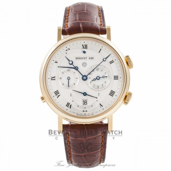 Breguet Classique Tzar Alarm 18k Yellow Gold 5707BA.129V6 5YIQFR - Beverly Hills Watch Company Watch Store
