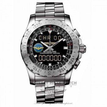 Breitling Airworlf Navy Centennial Limited Edition A7836323/BA86 PIHJTS - Beverly Hills Watch Company Watch Store