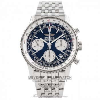Breitling Navitimer Stainless Steel A2332212/B637-0001 N3RA1C - Beverly Hills Watch Company Watch Store