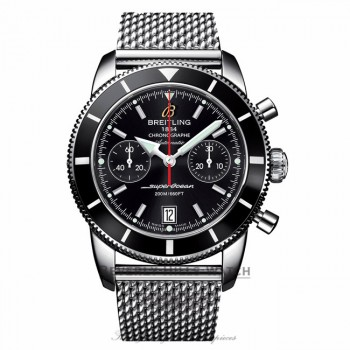 Breitling Superocean Heritage Chronograph 44MM Black Dial A2337024/BB81 4SQ2YF - Beverly Hills Watch Company Watch Store
