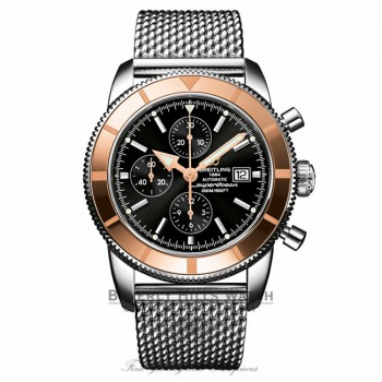 Breitling Superocean Heritage Chronograph Stainless Steel U1332012/B908 6TE65F - Beverly Hills Watch Company Watch Store