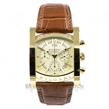 Bulgari Assioma 48mm Chronograph Yellow Gold Watch AA48C13GLDCH Beverly Hills Watch Company Watch Store