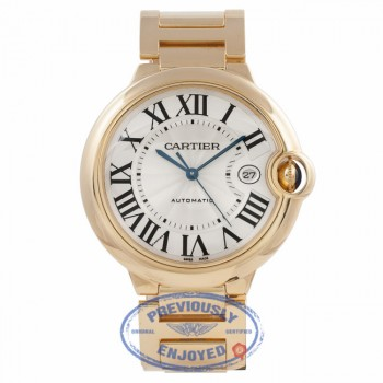 Cartier Ballon Bleu 18k Yellow Gold Large W69005Z2 LHR57Q - Beverly Hills Watch Company Watch Store