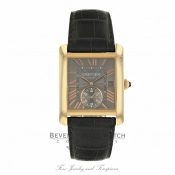Cartier Tank MC Rose Gold Grey Dial WGTA0014 7AT9JF