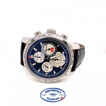 Chopard Mille Miglia Split Second Chronograph 44mm Stainless Steel Black Dial 168995-3002 - Beverly Hills Watch Company