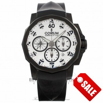 Corum Admirals Cup Limited edition Chronograph 753.691.98.F371 Beverly Hills Watch Company
