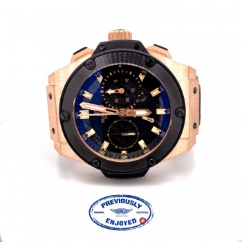 Hublot Big Bang King Power 48mm Rose Gold Split Second Power Reserve 709.OM.1780.RX D63VLA