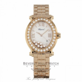 Chopard Happy Sport Oval Quartz 27/5350-5004 - Beverly Hills Watch