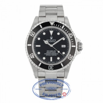 Rolex Oyster Perpetual Sea-Dweller 4000 Steel Oyster 16600 - Beverly Hills Watch