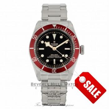 Tudor Heritage Black Bay 41mm Red Bezel 79230R 6F915T - Beverly Hills Watch