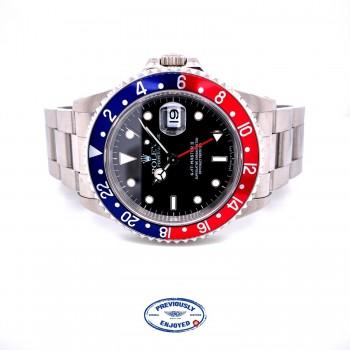 "Rolex GMT Master II ""Pepsi"" Vintage 16710 DNK2KP - Beverly Hills Watch Company"