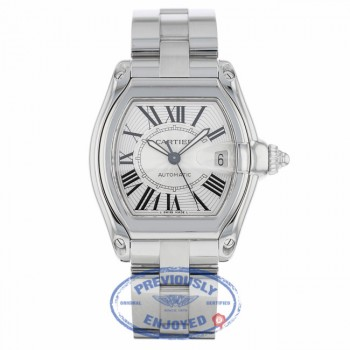 Cartier Roadster Large Stainless Steel W62025V3 - Beverly Hills Watch
