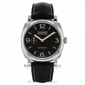 Panerai Radiomir 1940 3 Days Black Dial Automatic PAM00620 - Beverly Hills Watch