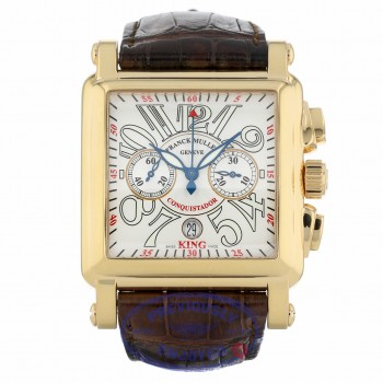 Franck Muller King Conquistador Cortez Automatic 43mm 18k Rose Gold 10000KCC WFYVTF - Beverly Hills Watch