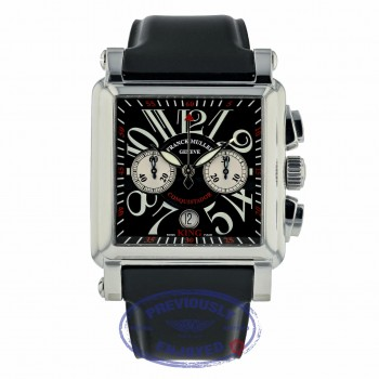 Franck Muller King Cortez Chronograph Stainless Steel Black Dial 1000 K CC DM8VTH - Beverly Hills Watch Company